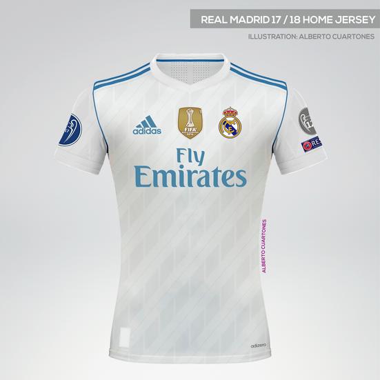 6d2f7a99f Real Madrid 17 18 Kits on Behance