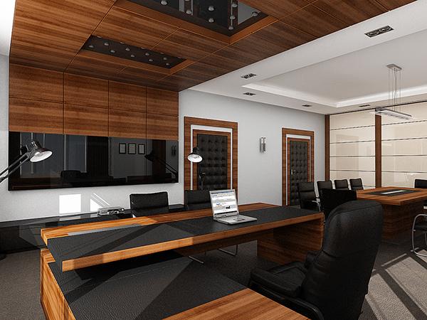 Public Interior Design 02 Executive Director Office On Behance