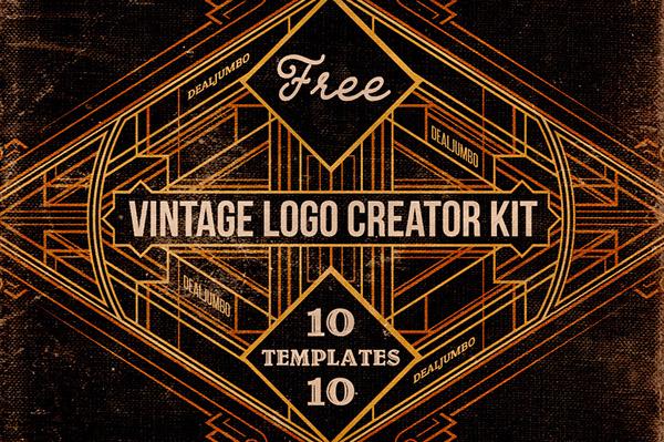 Free Vintage Logo Creator Kit on Behance