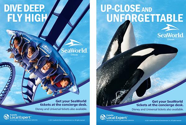 Seaworld Parks Amp Entertainment Print On Behance