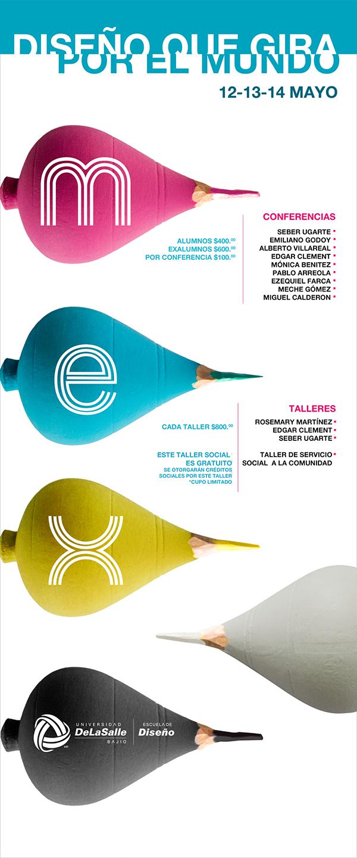 conferencias  diseño  salle bajio  mex