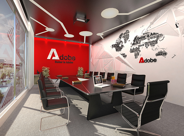 Beau Adobe Office In Vietnam (Graduation Project) On Behance