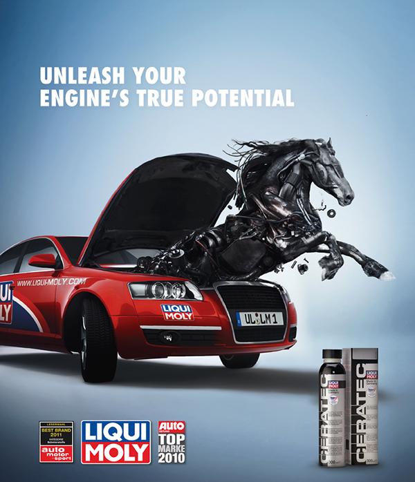 Liqui Moly Print Ad On Behance