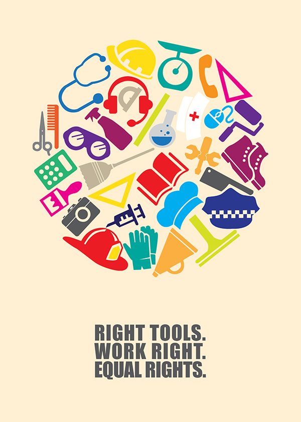 Work Right Poster Project on Behance