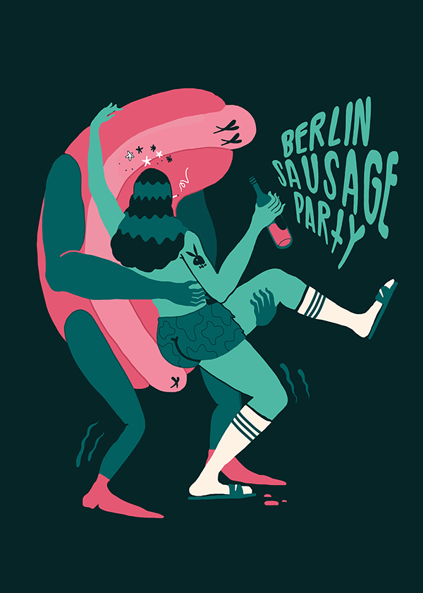 Berlin Sausage Party On Behance