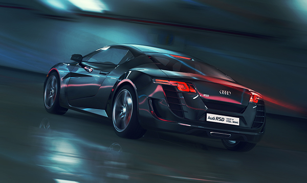 Audi Rsd Concept On Pantone Canvas Gallery