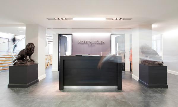 office design project for mcarthurglen uk ltd on behance
