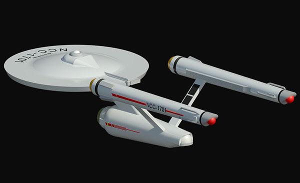 USS U.S.S enterprise Star Trek space ship spaceship NCC1701 ncc-1701 NCC 1701