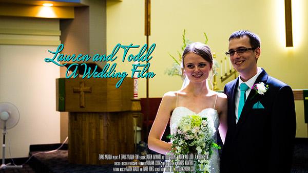 wedding lauren Todd Winnipeg Zhang Yaohan
