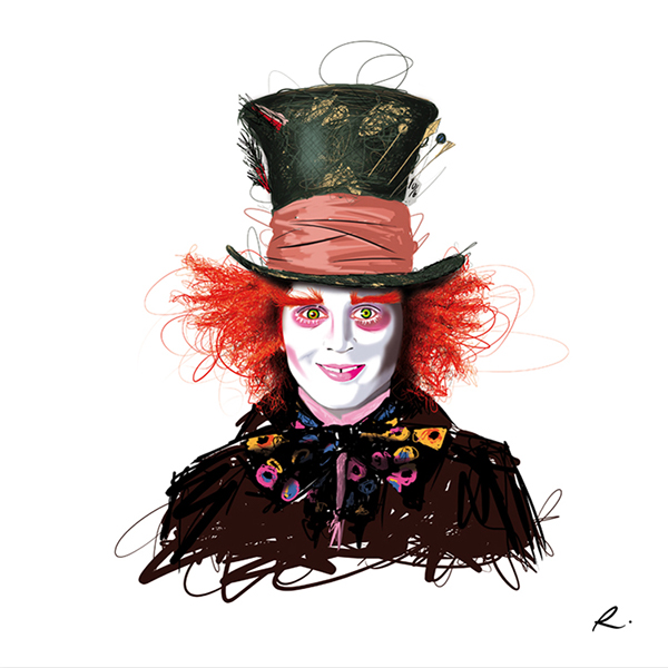 The Mad Hatter Tim BURTON Tribute On Behance