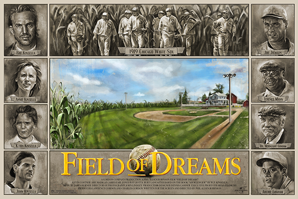 character analysis of ray kinsella in the movie field of dreams