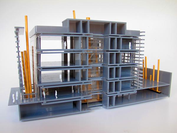 Maqueta para estudio estudio de arquitectura vertical on for Estudios de arquitectura la plata