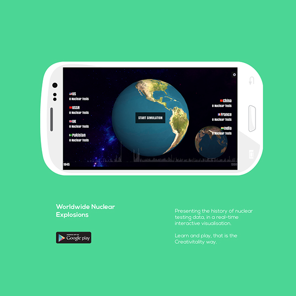 nuclear testing educational Mobile Application