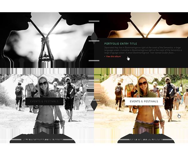 Responsive mobile  website responsive website minimal psd