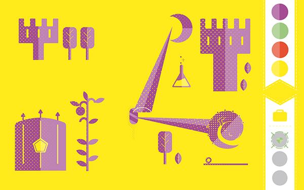 animazione crabtoon color Insight graphic design complemetary Katrin ann orbeta valerio merenda VINCENZO flat Icon