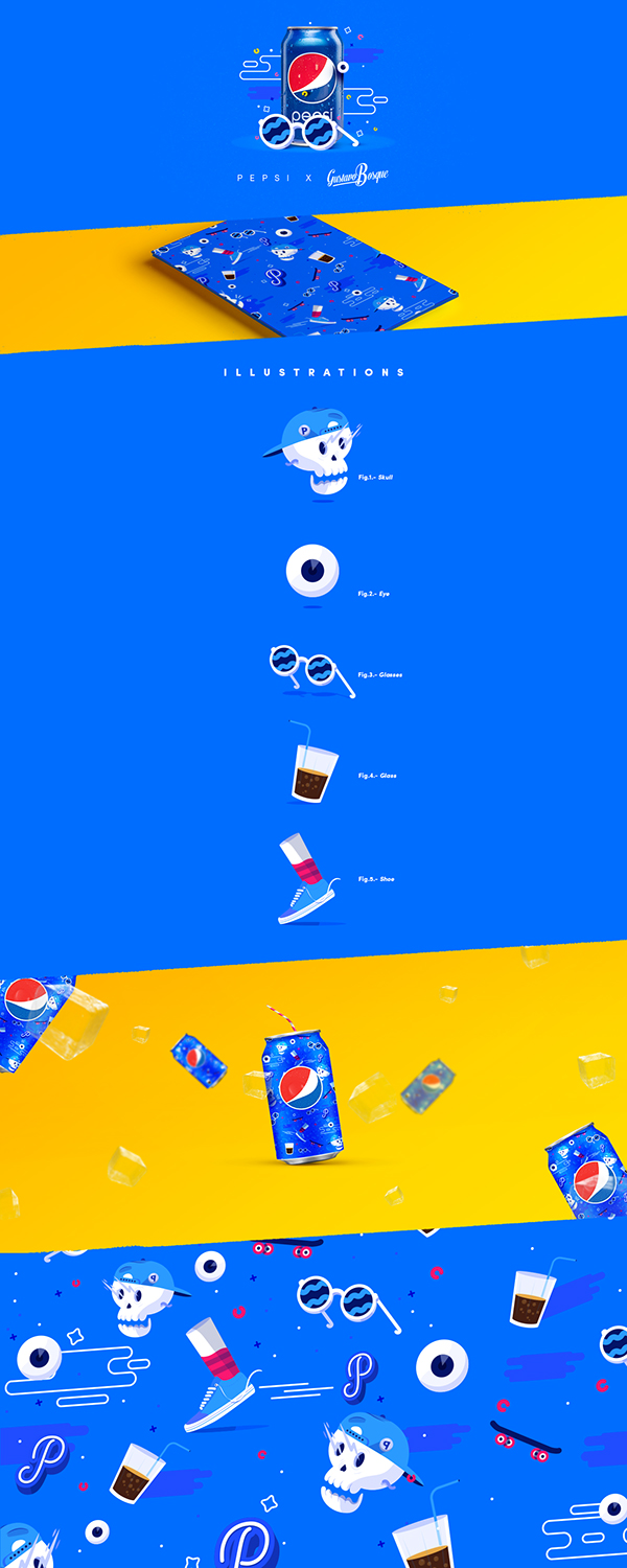 PEPSI // LIVE FOR NOW  DESIGN CHALLENGE by Gustavo Bosque