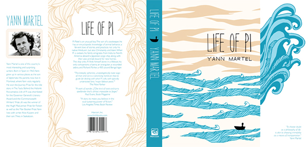 life of pi challenge to create a book wrap for the book life of pi by    Life Of Pi Book