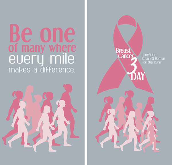 Three day walks for breast cancer
