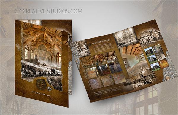 European Rustic Branding Amp Brochure