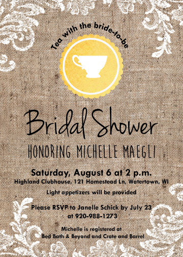 08d7a9f4a8c Michelle s Bridal Shower Invite on Behance