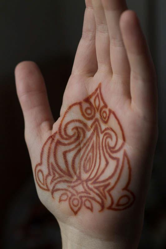 Henna tattoo ornament on behance for Henna tattoo process
