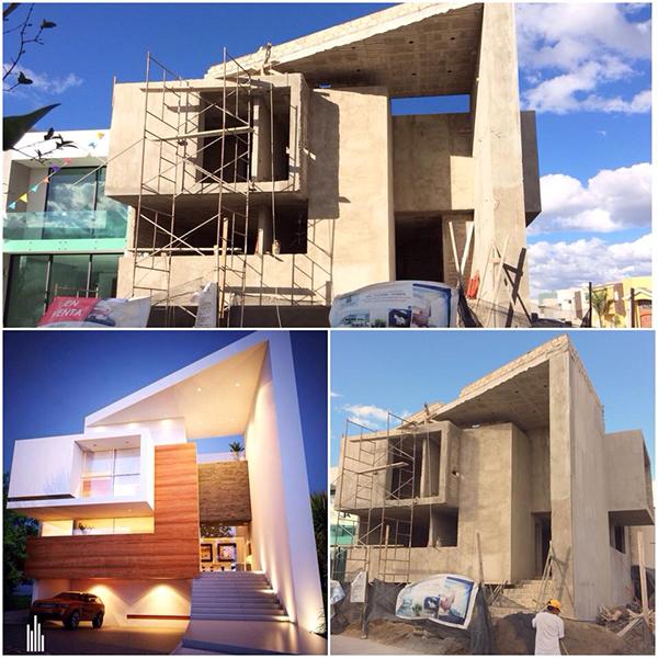 Casa el pilar on behance - Casas de arquitectos ...