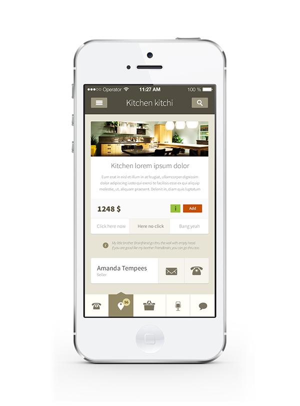 mobile design uiux app kit
