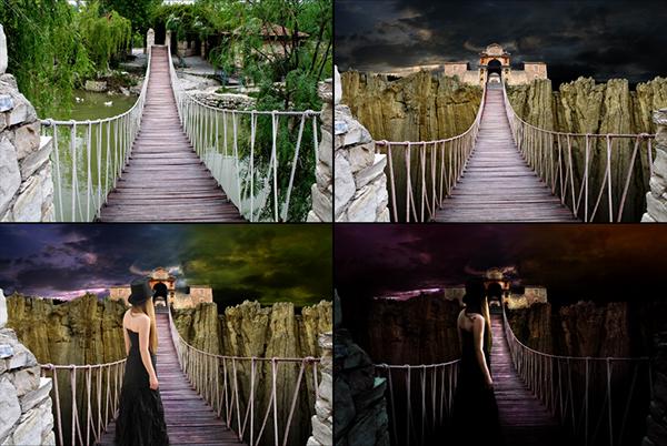 Alejandro Dolina Opereta Criolla photoshop art manipulation oniric surrealism Chinvat Cinvat