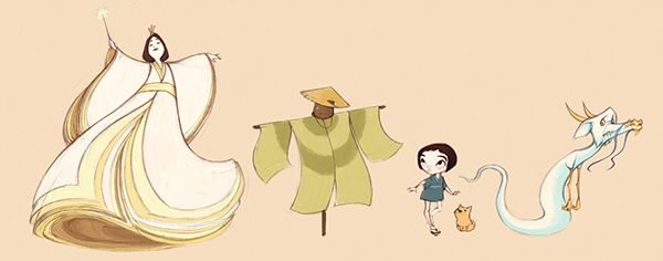 Character Designer Salary In Japan : Japanese wizard of oz project on sva portfolios