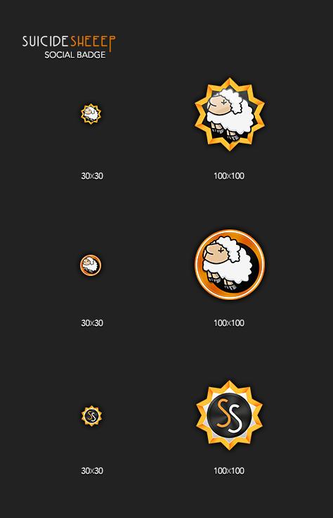 Icon badge emblem monstercat