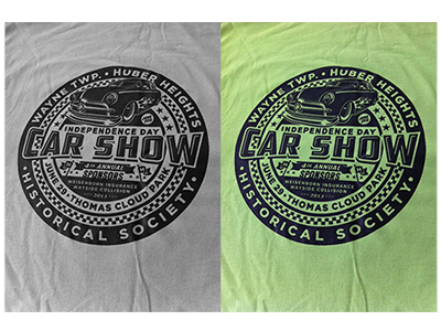 Car show logo graphics on behance for T shirt printing westerville ohio