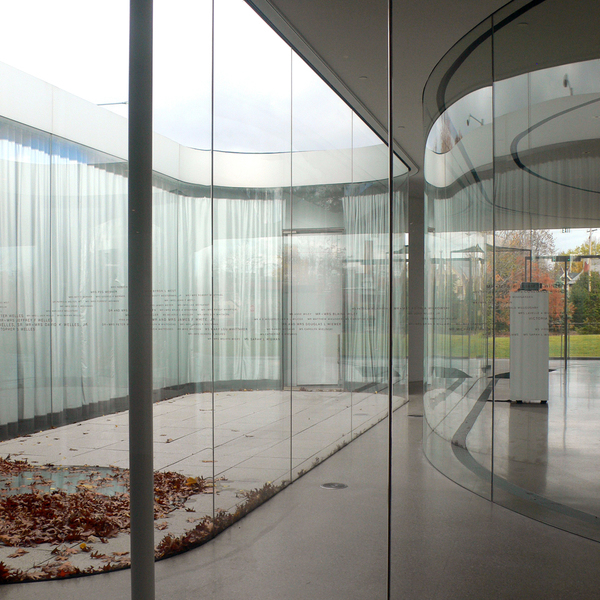 sanaa glass pavilion at the toledo museum of art on behance. Black Bedroom Furniture Sets. Home Design Ideas