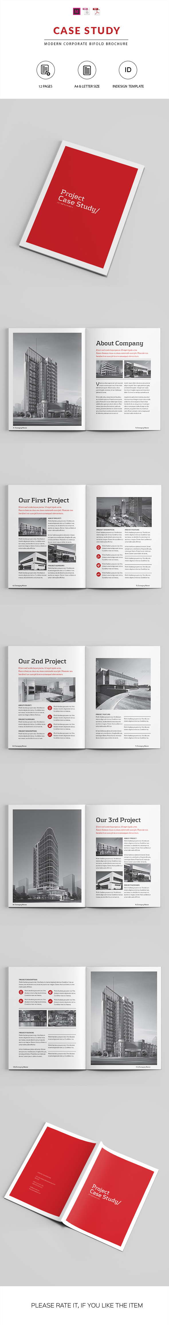Case Study Booklet | Indesign Template on Behance