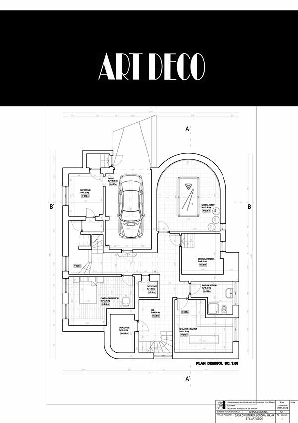 Art Deco Interior Design On Behance