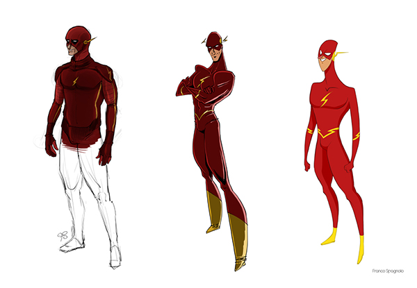Character Design In Flash : Jla concept characters design on pantone canvas gallery