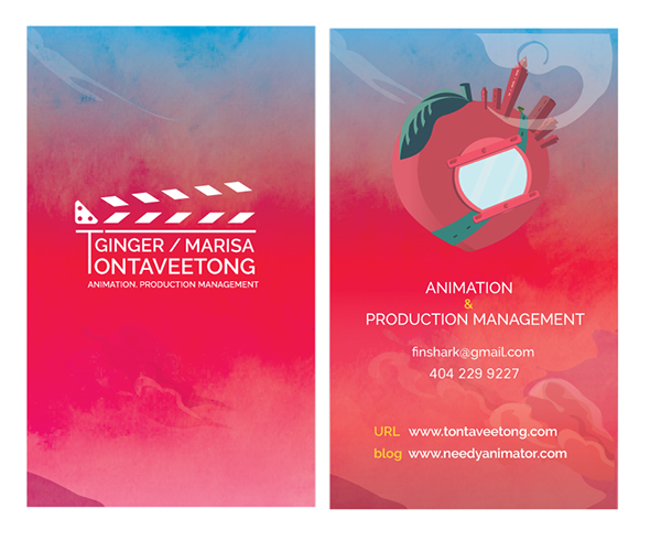 Artist business card v2 on scad portfolios artist business card v2 animation colourmoves