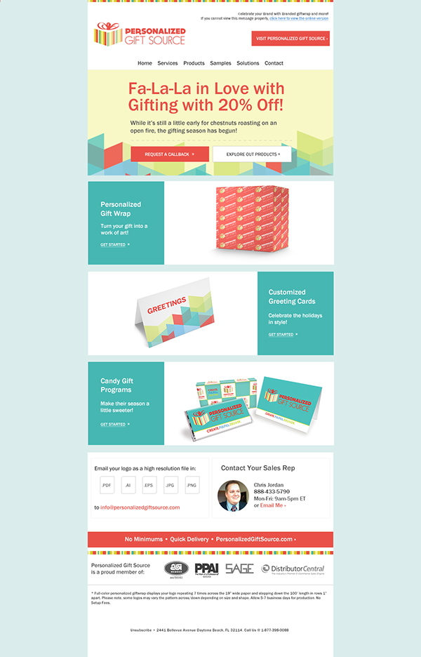 Pgs Email Templates On Behance