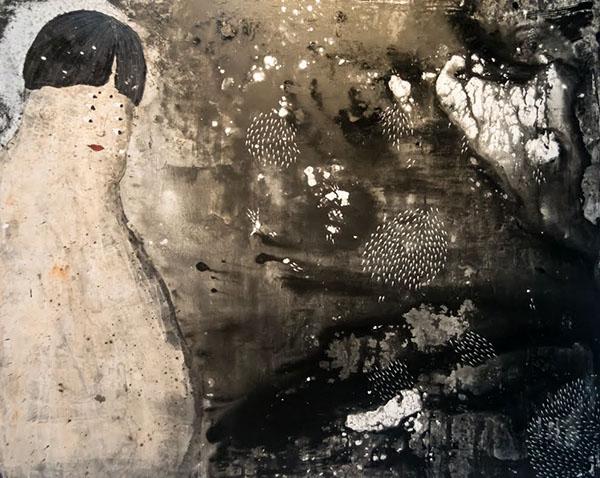 oilpainting canvas saint