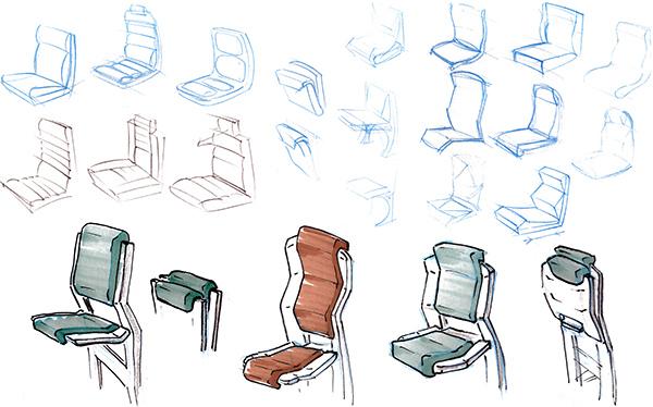 Sketching on RISD Portfolios