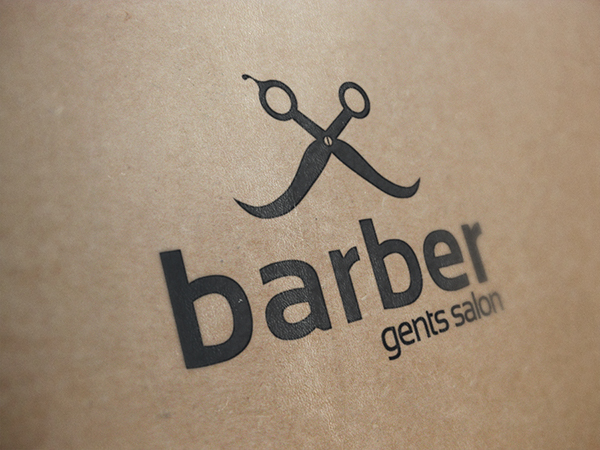 barber gents salon logo template on behance