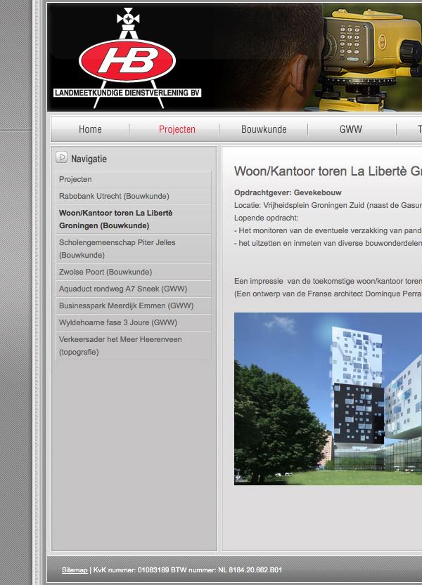 jeroen rijpstra Webdesign Van der Let & Partners Identity