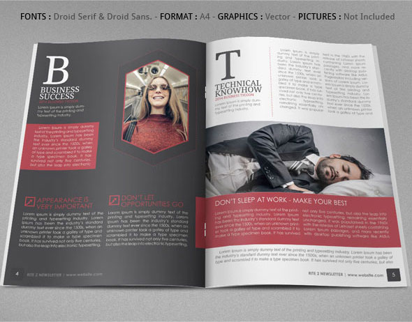 Vol.2 RITE Newsletter Ideas on Behance