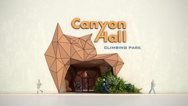 climbing  park sport canyon Hall green