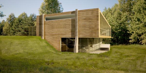 Studio casa passiva eco house on behance - Ricircolo aria casa ...