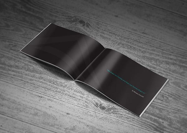 Company Profile Brochure Interior Design on Behance