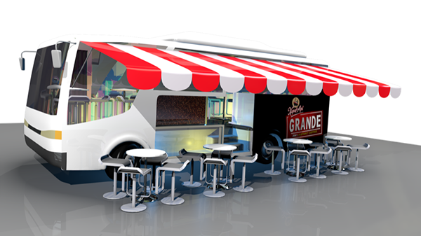 Mobile Cafe On Behance