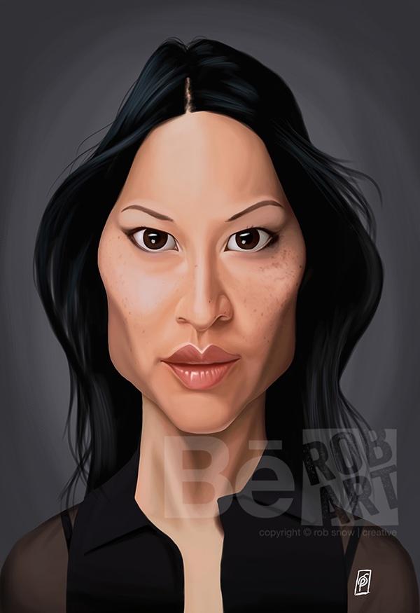 Celebrity Sunday Lucy Liu On Pantone Canvas Gallery