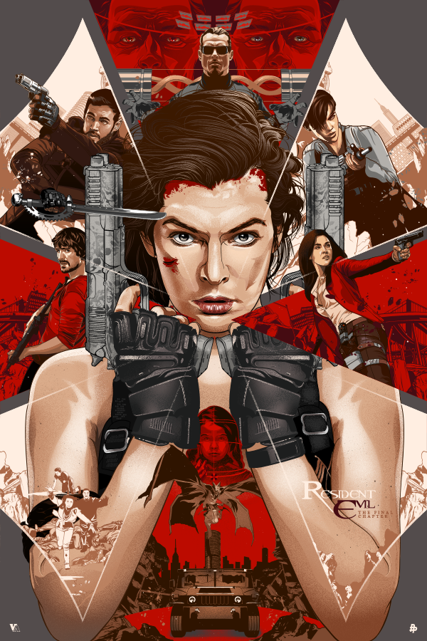 Resident Evil The Final Chapter Official Promo Art On Behance