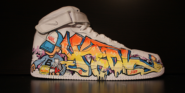 nike air force disegnate