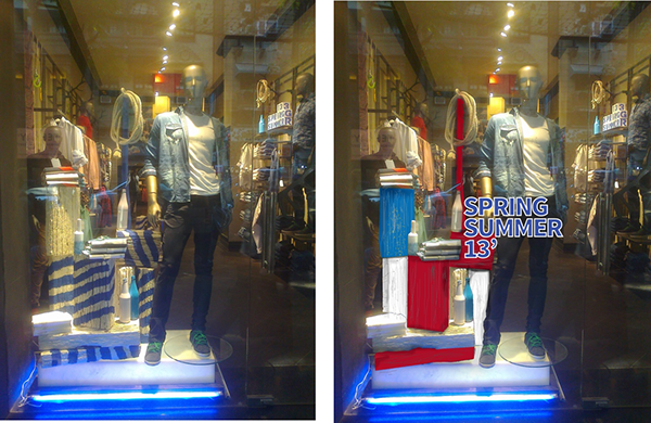 Visual merchandising window display for parx ss 39 13 on - Visual merchandising head office jobs ...